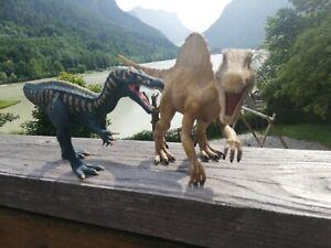 Schleich Dinosaurier Spielfiguren Suchomimus + Spinosaurus wie Jurassic