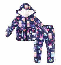 Girl's Size 2 Snow Suit Purple  NWT