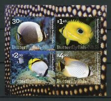 Niue 2017 MNH Butterflyfish 4v M/S Fish Fishes Marine Corals Stamps