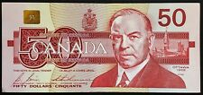1988 Bank of Canada $50 Fifty Dollar Banknote - Great Condition