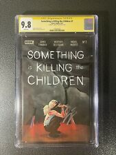 Something is Killing the Children 7 First Print Cover A CGC 9.8 SS 2594063004