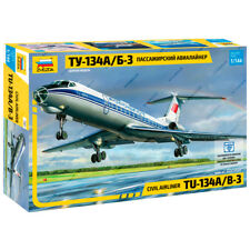 "ZVEZDA 7007 Model Kit ""Civil Airlines TU-134A/B-3"""