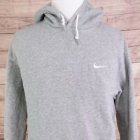 NIKE SWOOSH ATHLETIC DEPT GRAY PULLOVER HOODIE MENS SIZE 2XL XXL