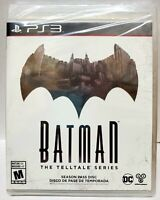 Batman: The Telltale Series -- Season Pass Disc (Sony PlayStation 3, 2016)