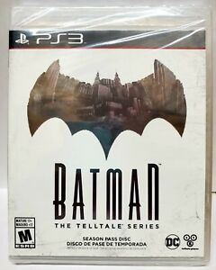 Batman: The Telltale Series -- Season Pass Disc (Sony PlayStation 3, 2016)