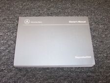 2000 Mercedes Benz S430 & S500 Owner Owner's Operator Guide Manual 4.3L 5.0L