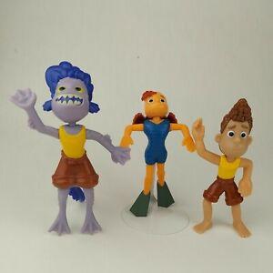 Disney Pixar Luca McDonalds Happy Meal Lot Of 4 Toy  2021