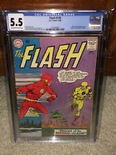 Flash #139 CGC 5.5 DC 1963 1st Professor Zoom! Reverse Flash! JLA! G11 121 cm
