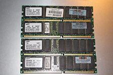 4GB DDR 266 MHz CL2.5 ECC PC2100R REGISTERED SAMSUNG HP 261585-041 300701-001