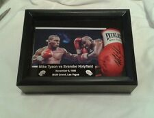 MIKE TYSON VS EVANDER HOLYFIELD  MINI BOXING DISPLAY  GREAT GIFT