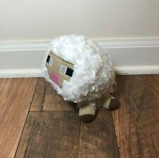 "Minecraft 6"" Baby Sheep beanbag plush, White, Mojang, animal, farm, beanie"