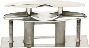 Boat Marine Stainless Steel 316 Pull up Cleat Flush Mount Cleat Lift - 6 Inch