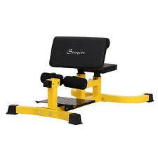Adjustable Squat Bench Trainer Sit Up Machine Ab Curl Workout Home Gym Tool