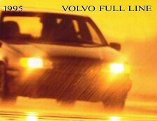 VOLVO 850,940,960 SERIES  SALES BROCHURE 1995