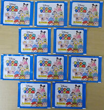 Disney Tsum Tsum ~ Panini Sticker Collection ~ 10 x Sealed Packs = 50 Stickers