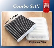 Combo Set Air Filter For Vibe XD Corolla Matrix Yaris AF5655&35667C Fast Ship