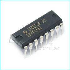 5PCS CD4017BE 4017 CD4017 DECADE COUNTER DIVIDER IC