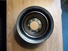 MOPAR 440 400 383 AIR CONDIONING FOUR BELT CRANK PULLEY GOOD USED CONDITION !!!!