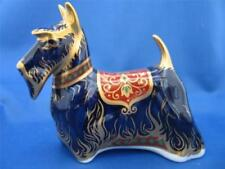 Paperweight Blue Royal Crown Derby Porcelain & China