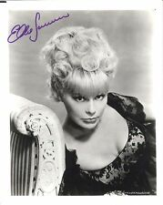 ELKE SOMMER, ACTRESS SIGNED 8X10 TOP 1960'S MOVIE STAR STUDIO PROMO WITH COA
