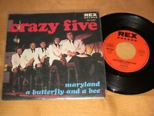 3/1 Crazy Five-Maryland-a Butterfly and a Bee