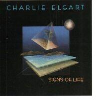 Charlie Elgart signs of life/Novus records CD 1988 NEUF