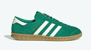 US:10.5   adidas Originals Men's Classic  HAMBURG SNEAKERS  GREEN  UK:10   LAST1