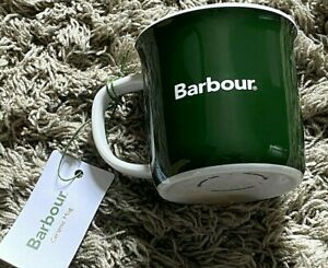 Brand NEW + Tags - High Quality Official BARBOUR Collectable Ceramic Cup / Mug