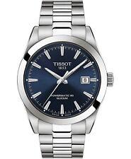 *BRAND NEW* Tissot Men's Powermatic 80 Silicium Blue Dial Watch T1274071104100
