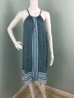 NWT Womens Max Edition Sleeveless Halter Neck Geo Print Dress Sz XL Extra Large
