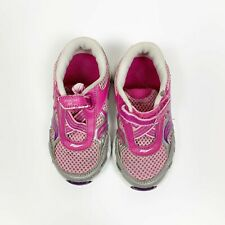 Saucony Toddler Girls Athletic Ride Sneakers Shoes Pink Silver Size 7.5M