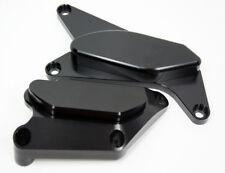 Black Suzuki 2006 2007 2008 2009 GSXR750 GSXR-750 Engine Case Cover Slider Kit