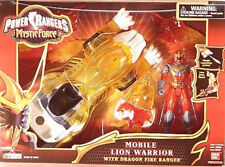 Power Rangers Mystic Force - Mobile Lion Warrior with Dragon Fire Ranger (MISB)