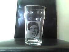 Norman Wisdom Engraved Etched Beer  Pint Glass
