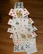 JUMBO Card Castle --using JUMBO cards!  It's BIG!!  36 inches tall         TMGS