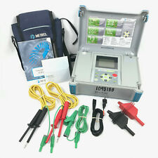 Metrel Mi 3201 Teraohm 5kv Plus Insulation Tester Greenlee 5990a With Leads