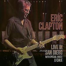 ERIC CLAPTON Live In San Diego (Specialguest JJ Cale) (Digipak)  2 CD NEU & OVP