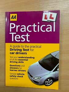 """2005 """"AA PRACTICAL TEST"""" CAR DRIVERS DRIVING TEST QUESTIONS PAPERBACK BOOK"""