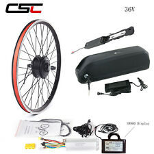 Ebike Conversion Kit Electric Bicycle Mountain Wheel 36V 250W Pedal With Battery