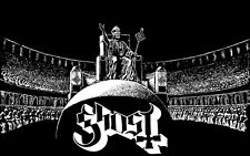 """010 Ghost - Swedish Heavy Metal Band Music 22""""x14"""" Poster"""