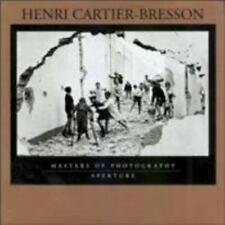 Henri Cartier-Bresson: Masters of Photography Series by , Good Book
