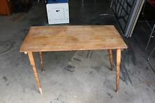 Antique Folding Sewing Table Embossed Ruler on Top Local Pickup