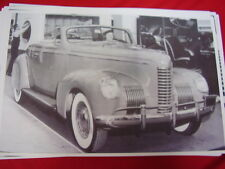 1939 NASH  AMBASSADOR CONVERTIBLE  BIG 11 X 17  PHOTO /  PICTURE