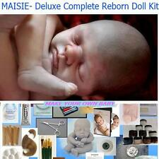 Deluxe Reborn doll kit for Beginning artist, Complete Starter kit, DVD,  Preemie