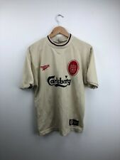 Liverpool FC 1996-1997 Away Football Shirt Original Reebok LFC Retro Adults M