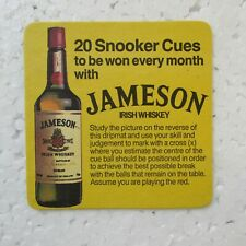 Jameson Whiskey Collectable Mats Amp Coasters For Sale Ebay