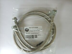 4 Ft Washer Inlet Hose 2 Pack GE WX14X10005