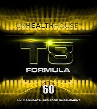 60 Strong T8 Fat Burner Tablets for Rapid Weight Loss - Men & Women