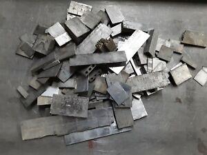 25 lbs Printers Lead strip material scrap Linotype Metal
