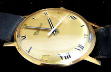 SUPER GREAT CONDITION 14K SOLID GOLD BOXED LUCIEN PICCARD WIND WATCH